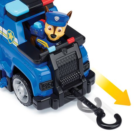 PAW Patrol Ultimate Rescue - Chase's Ultimate Rescue Police Cruiser with Lifting Seat And Fold-out Barricade, for Ages 3 And up - image 5 of 7
