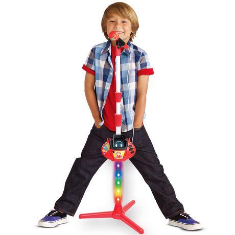 Pupitre musical pour enfants avec microphone par Toy Chef