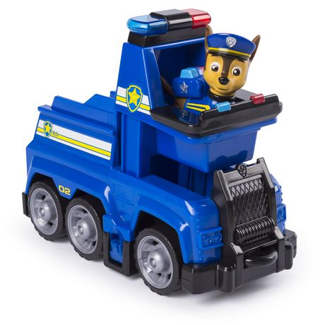 PAW Patrol Ultimate Rescue - Chase's Ultimate Rescue Police Cruiser with Lifting Seat And Fold-out Barricade, for Ages 3 And up - image 3 of 7