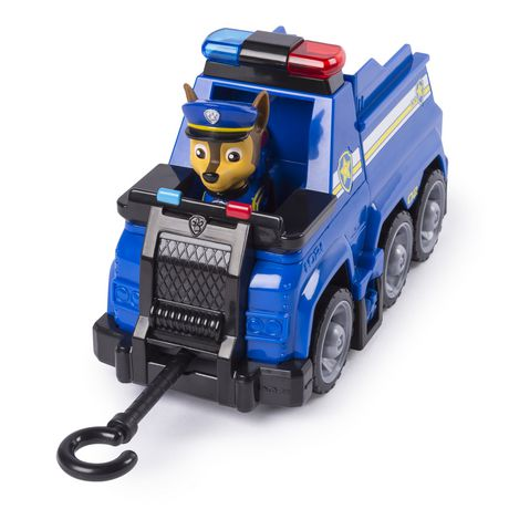 PAW Patrol Ultimate Rescue - Chase's Ultimate Rescue Police Cruiser with Lifting Seat And Fold-out Barricade, for Ages 3 And up - image 4 of 7