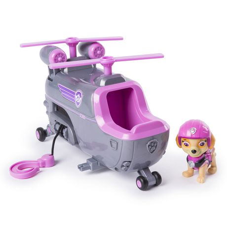 PAW Patrol Ultimate Rescue - Skye's Ultimate Rescue Helicopter with Moving Propellers And Rescue Hook, for Ages 3 And up - image 1 of 6