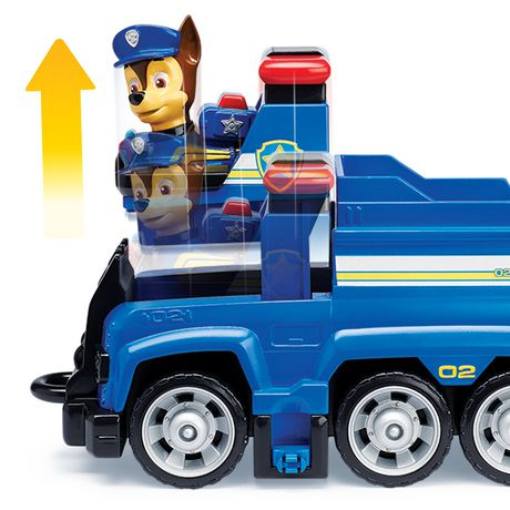 PAW Patrol Ultimate Rescue - Chase's Ultimate Rescue Police Cruiser with Lifting Seat And Fold-out Barricade, for Ages 3 And up - image 6 of 7