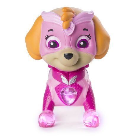 386c1508dce PAW Patrol - Mighty Pups Skye Figure with Light-up Badge And Paws ...