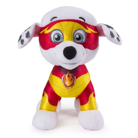 """PAW Patrol – 8"""" Mighty Pups Marshall Plush, for Ages 3 And up"""