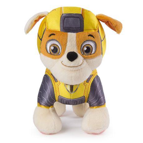 "paw patrol mighty pups rubble plush 8"" | walmart canada | walmart canada"