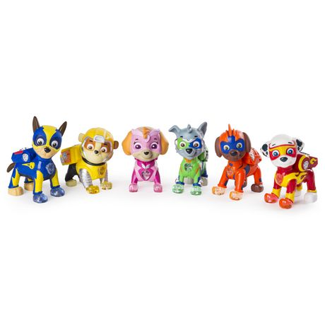 Paw Patrol Mighty Pups 6 Pack Gift Set Paw Patrol
