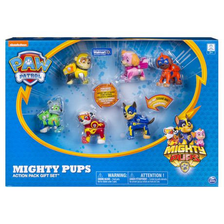 PAW Patrol Mighty Pups 6Pack