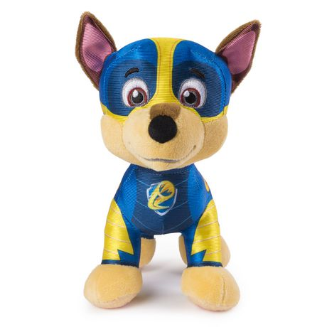 "PAW Patrol – 8"" Mighty Pups Chase Plush, for Ages 3 And up - image 1 of 3"