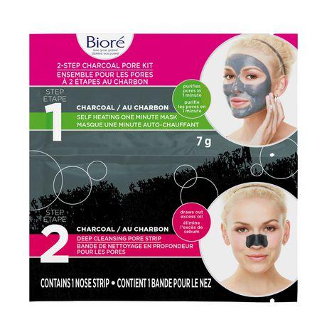 Bioré 2-Step Charcoal Pore Kit - image 1 of 1