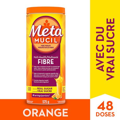 Metamucil Multihealth Fibre Powder Walmart Canada