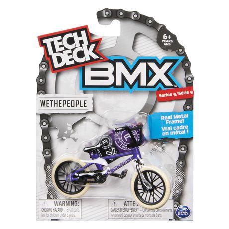 Tech Deck Bmx Finger Bike Wethepeople Blue White Series 9 Walmart Canada