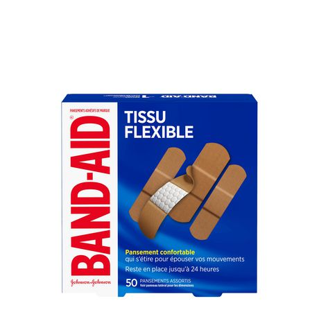 BAND-AID® Flexible Fabric Adhesive Bandages, Family Pack - image 2 of 6