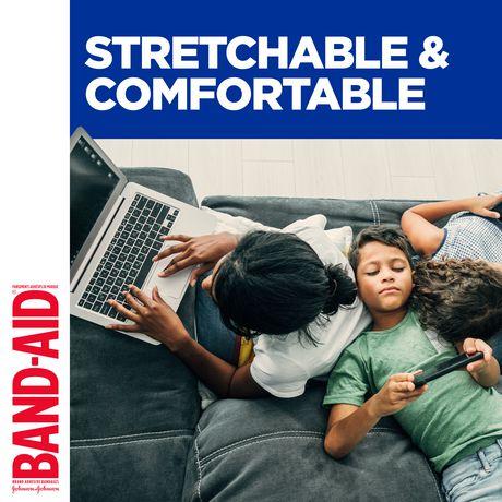 BAND-AID® Flexible Fabric Adhesive Bandages, Family Pack - image 4 of 6