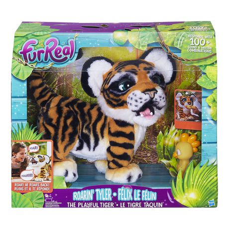 Furreal Friends Furreal Roarin Tyler, The Playful Tiger White C