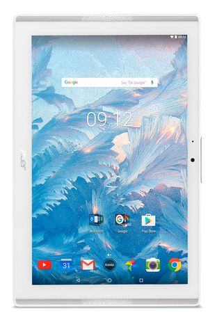 "ACER ICONIA B3-A40-K1WW White, MT8167 Processor, 10.1"" IPS HD, 16GB Storage, Android 7.0 Tablet, NT.LDNAA.001 - image 1 of 5"