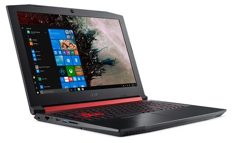 "ACER Nitro 5 AN515-53-71Z5, Intel Core i7-8750H Processor, 15.6"" FHD, NVIDIA GeForce GTX 1050Ti, 12GB DDR4, 1TB HD, Windows 10 Home, NH.Q3YAA.005 - image 2 of 5"