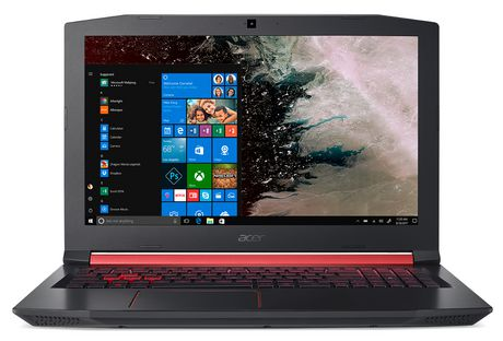 "ACER Nitro 5 AN515-53-71Z5, Intel Core i7-8750H Processor, 15.6"" FHD, NVIDIA GeForce GTX 1050Ti, 12GB DDR4, 1TB HD, Windows 10 Home, NH.Q3YAA.005 - image 1 of 5"