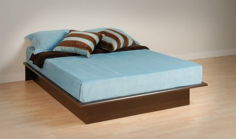 prepac base de lit plateforme grand walmart canada. Black Bedroom Furniture Sets. Home Design Ideas