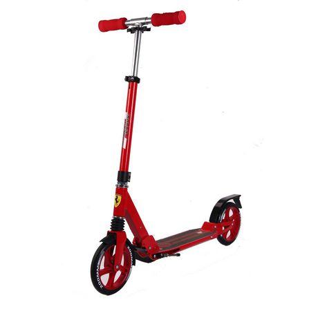 Trottinette à 2 roues avec suspension Ferrari de Kool Karz - Rouge - image 1 de 1