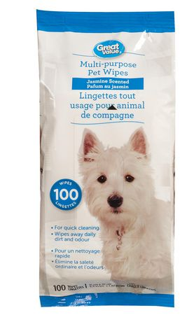 Great Value Pet Wipes - image 1 of 1