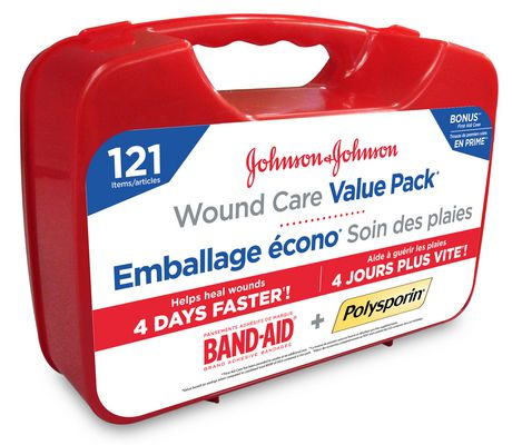 Band-Aid & Polysporin Wound Care Value Pack | Walmart Canada