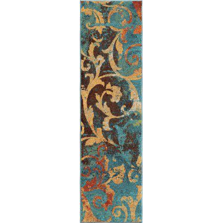 Tapis décoratif Watercolour Scroll d'Orian Rugs - image 2 de 2