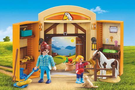 PLAYMOBIL Pony Stable Play Box 5660 Play Set - image 2 of 2