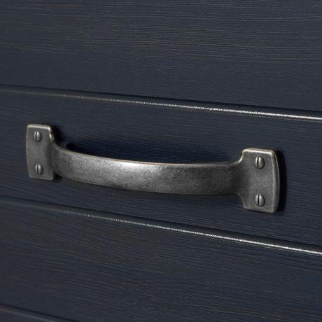 Commode à 4 tiroirs en bleu foncé Ulysses de Meubles South Shore - image 5 de 7