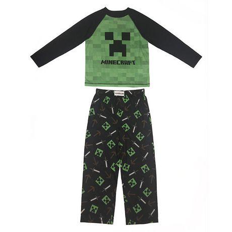 en soldes style de la mode de 2019 design distinctif Minecraft Boys' 2-Piece Pyjama Set | Walmart Canada