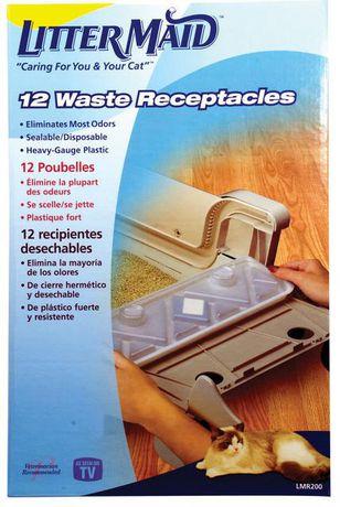 Réceptacles de déchets de LitterMaid (Pack de 12) - image 1 de 7