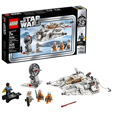 LEGO Star Wars: The Empire Strikes Back Snowspeeder – 20th Anniversary Edition 75259 Building Kit (309 Piece) - image 1 of 4