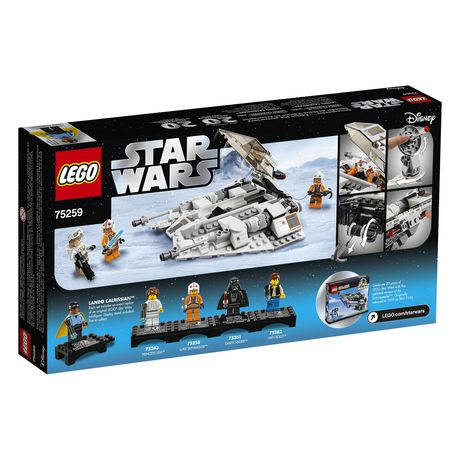 LEGO Star Wars: The Empire Strikes Back Snowspeeder – 20th Anniversary Edition 75259 Building Kit (309 Piece) - image 4 of 4