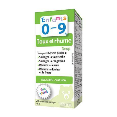Sirop Enfants 0-9 pour la toux et le rhume - image 2 de 2