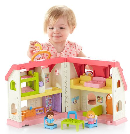 Fisher-Price Little People Maison Sons et Surprises – Édition anglaise - image 2 de 8