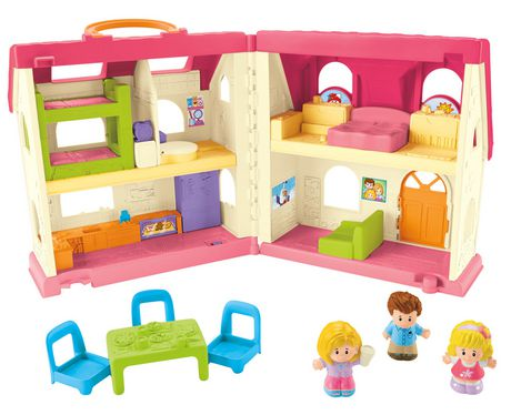 Fisher-Price Little People Maison Sons et Surprises – Édition anglaise - image 4 de 8