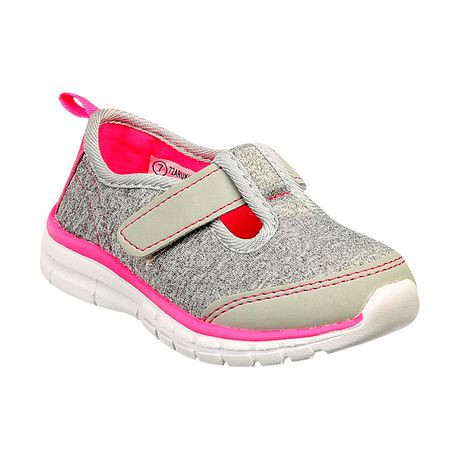 Athletic Works Toddler Girls Slip On Casual Shoes