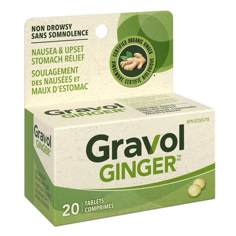 Gravol Ginger Non-Drowsy Tablets - image 2 of 4