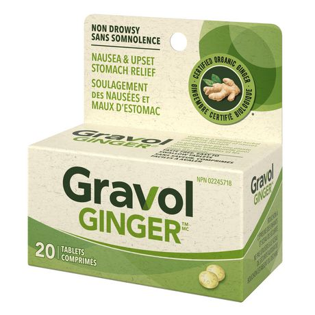 Gravol Ginger Non-Drowsy Tablets - image 3 of 4