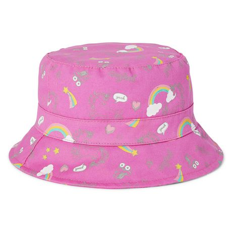 3f433f1dda6c6 George Toddler Girls  Printed Bucket Hat - image 2 ...