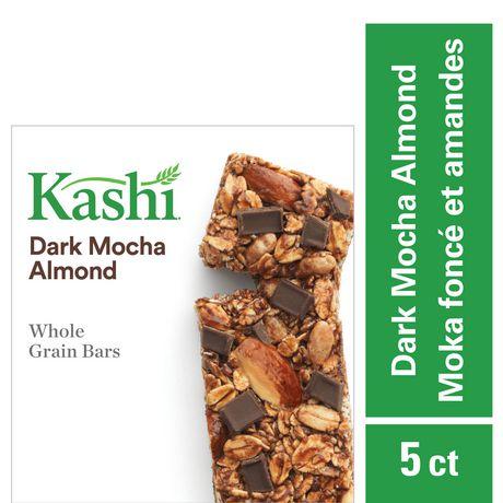 Kashi Barres de céréales entières– Moka foncé et amandes , 175g - image 1 de 6