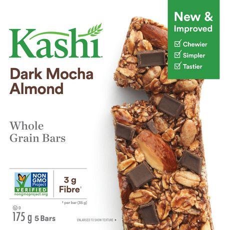 Kashi Barres de céréales entières– Moka foncé et amandes , 175g - image 4 de 6