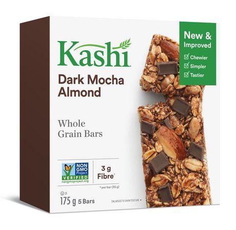 Kashi Barres de céréales entières– Moka foncé et amandes , 175g - image 6 de 6