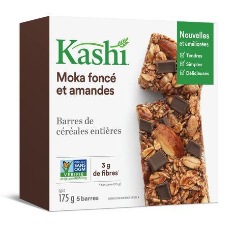 Kashi Barres de céréales entières– Moka foncé et amandes , 175g - image 2 de 6