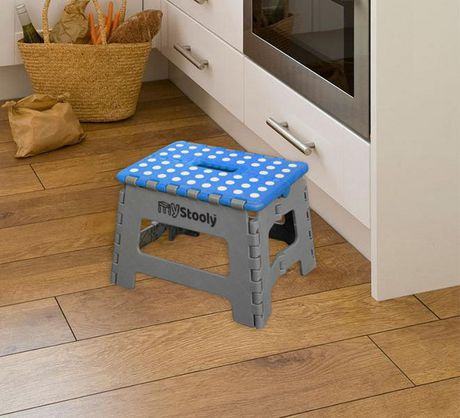 Mystooly Folding Step Stools 2 Pack Blue Walmart Canada