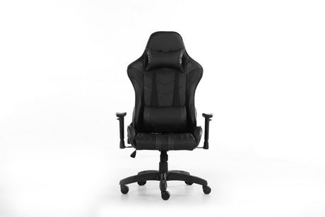 Prime Commander Black Gaming Chair  sc 1 st  Walmart Canada & Prime Commander Black Gaming Chair | Walmart Canada