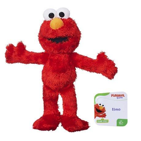Playskool Friends Sesame Street Elmo Mini Plush Walmart