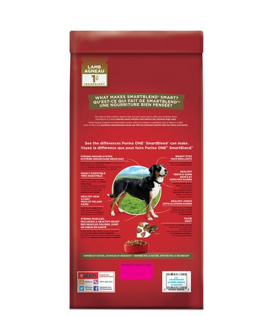 Purina ONE Smartblend Natural Dry Dog Food; Lamb & Rice Formula - image 2 of 9