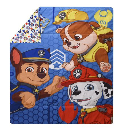 PAW Patrol 3 Piece Toddler Bedding Set- Chase, Rubble, And Marshall - image 2 of 5