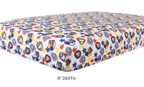 PAW Patrol 3 Piece Toddler Bedding Set- Chase, Rubble, And Marshall - image 5 of 5