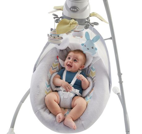 Fisher-Price Sweet Snugapuppy Dreams Cradle 'n Swing - image 3 of 9